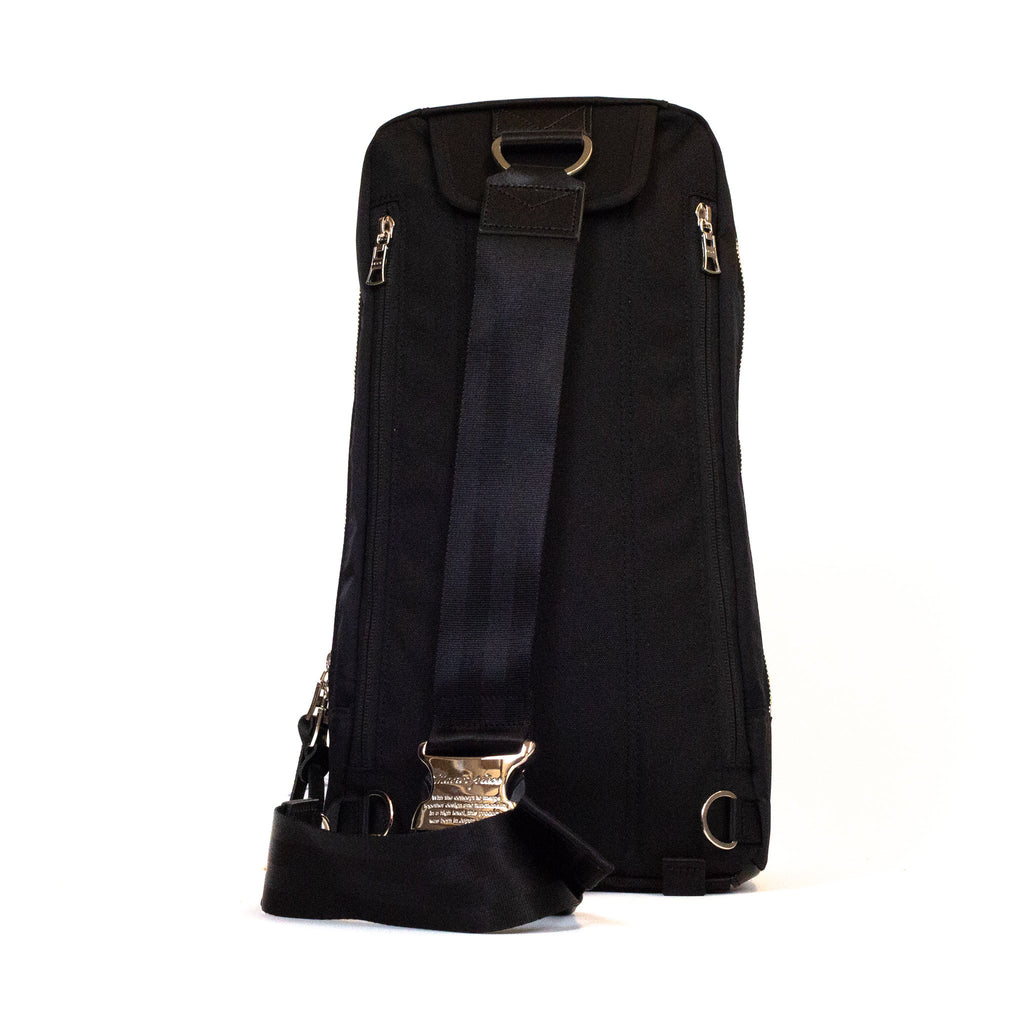 master-piece Lightning Shoulder Bag Black back