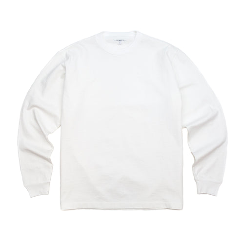 Lady White Co. L/S Rugby T-Shirt White