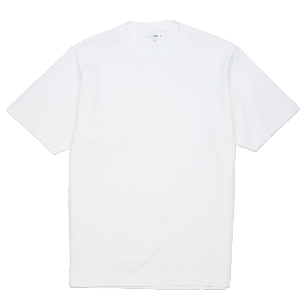 Lady White Co. Rugby T-Shirt White