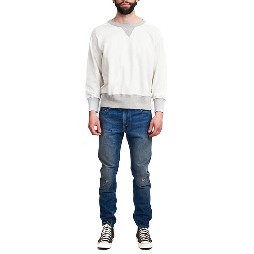 Levi's Vintage Clothing Bay Meadows Sweatshirt White Grey
