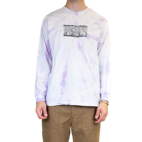 Liam Goslett Hippie Dining Table Tie Dye Tee Pink