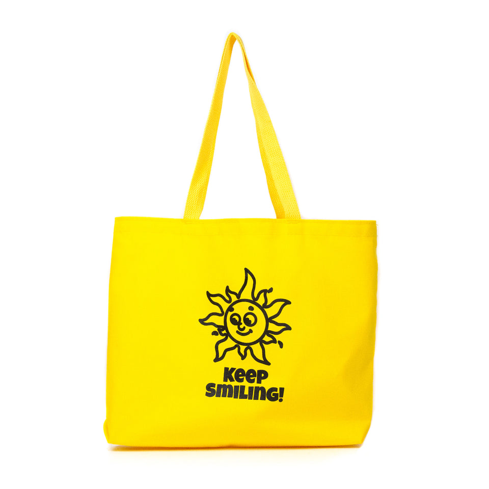 Lost & Found Canvas Tote Bag Keep Smiling