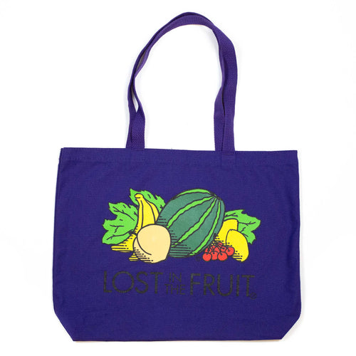 Lost & Found Canvas Tote Bag Lost In The Fruit