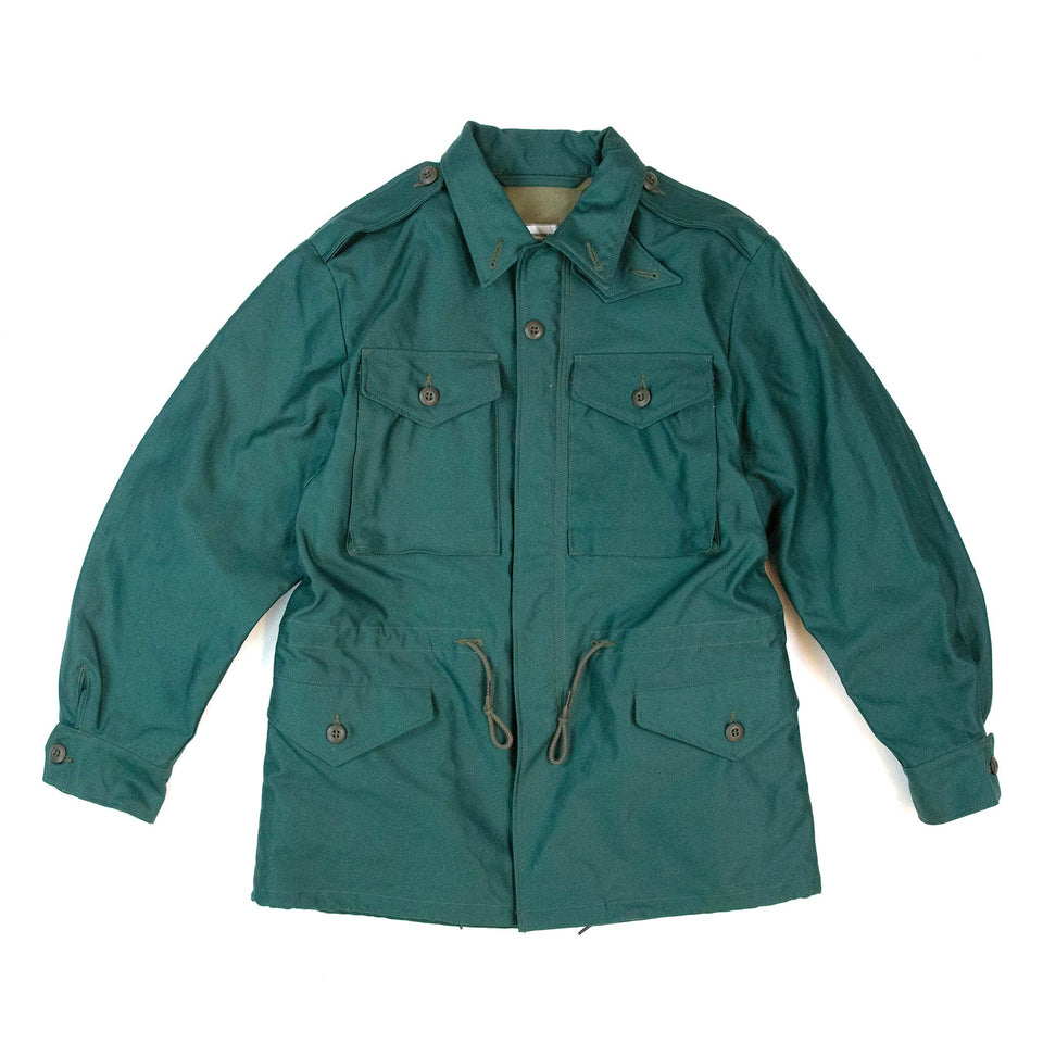 The Real McCoy's MJ21007 Coat, Man's, Cotton Wind Resistant Aggressor Green