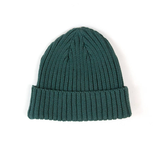 The Real McCoy's MA21014 Cotton Bronson Knit Cap Green
