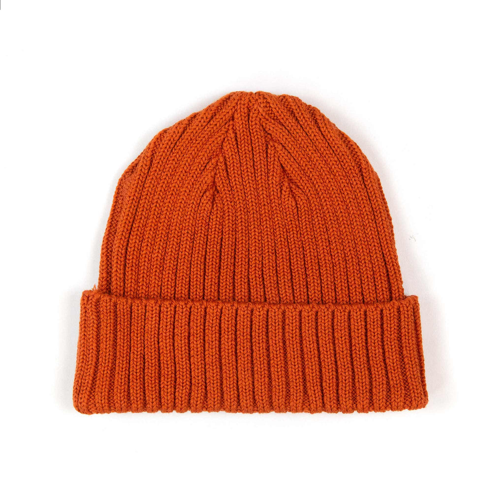 The Real McCoy's MA21014 Cotton Bronson Knit Cap Orange