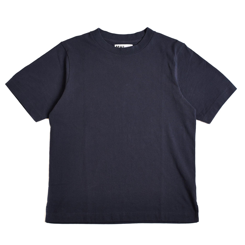 MHL S/S Wide Crew Neck Matte Jersey Slate