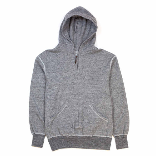 National Athletic Goods 1/4 Zip Parka Dark Grey