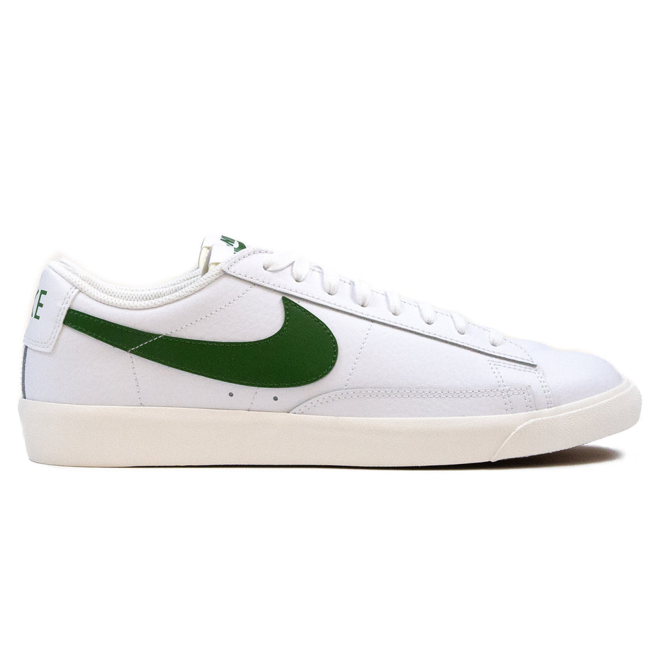 Nike Blazer Low Leather White/Forest Green