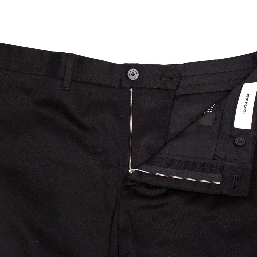 Norse Projects Albin Chino Black