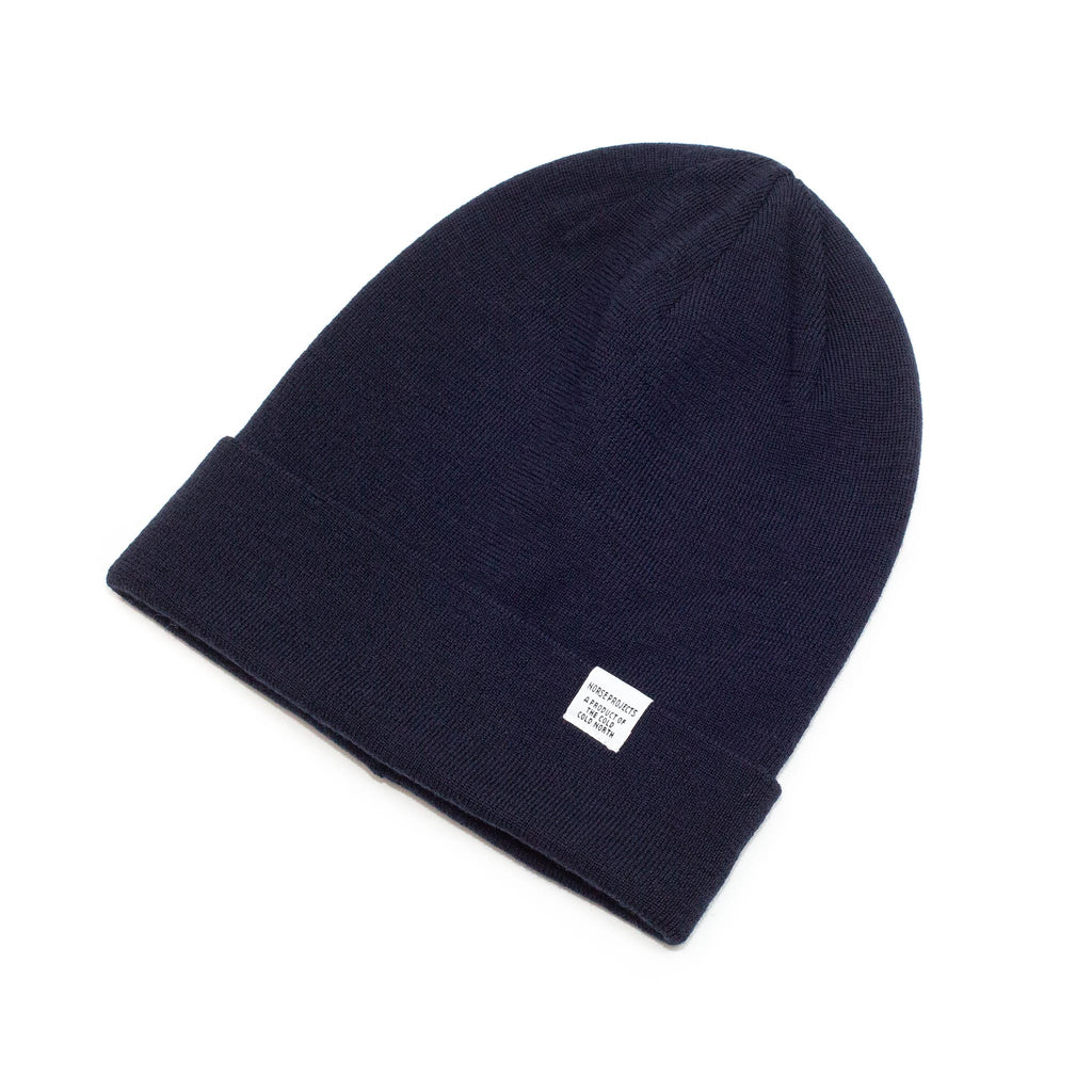 Norse Projects Norse Top Beanie Black