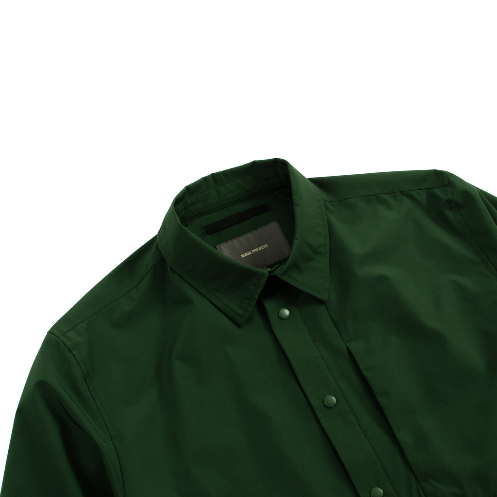 Norse Projects Jens Gore Tex Infinium Dartmouth Green