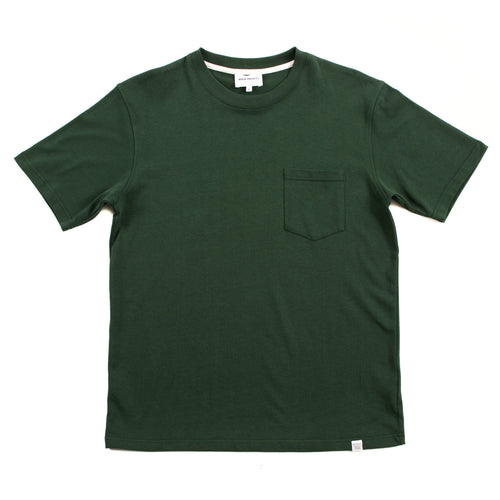 Norse Projects Johannes Pocket SS Dartmouth Green