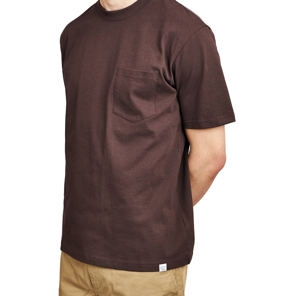 Norse Projects Johannes Pocket SS Heathland Brown