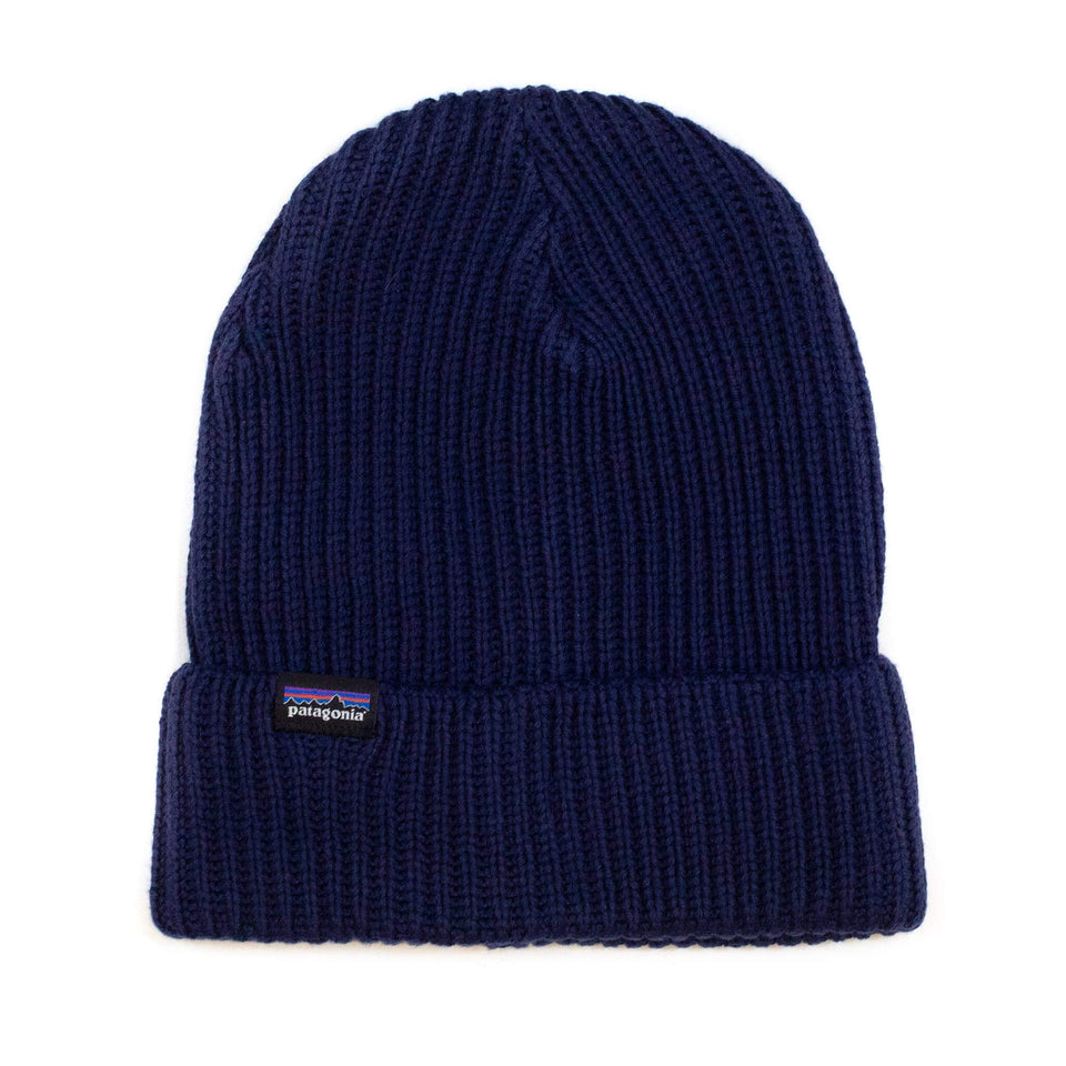 Patagonia Fisherman's Rolled Beanie Navy Blue