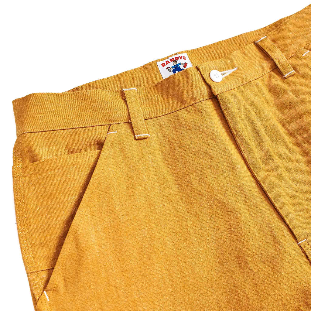 Randy's Garments Carpenter Pant Yellow Denim