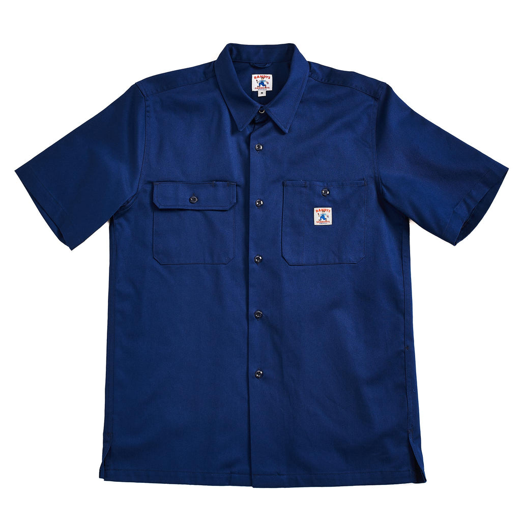 Randy's Garments S/S Utility Shirt Navy