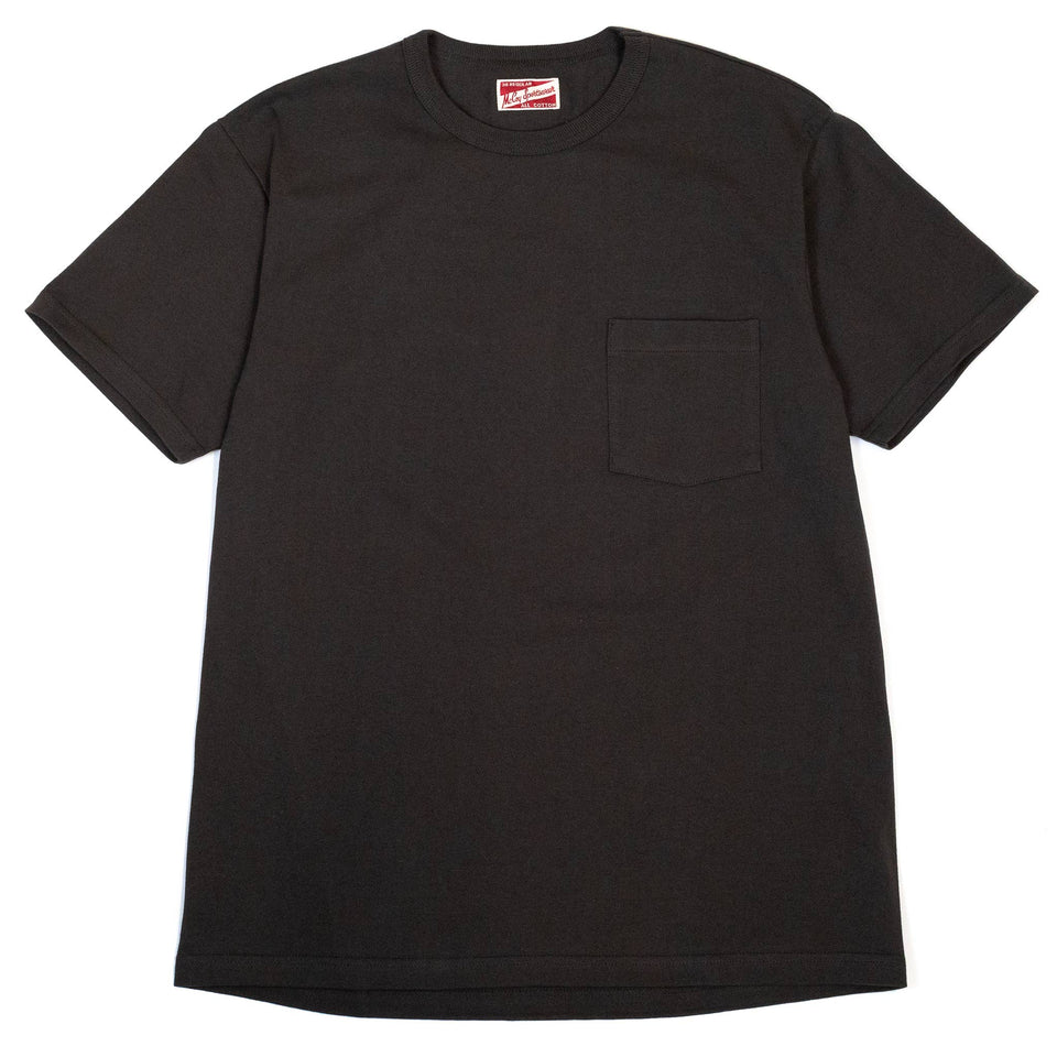 The Real McCoy's MC19012 Pocket Tee Shale front
