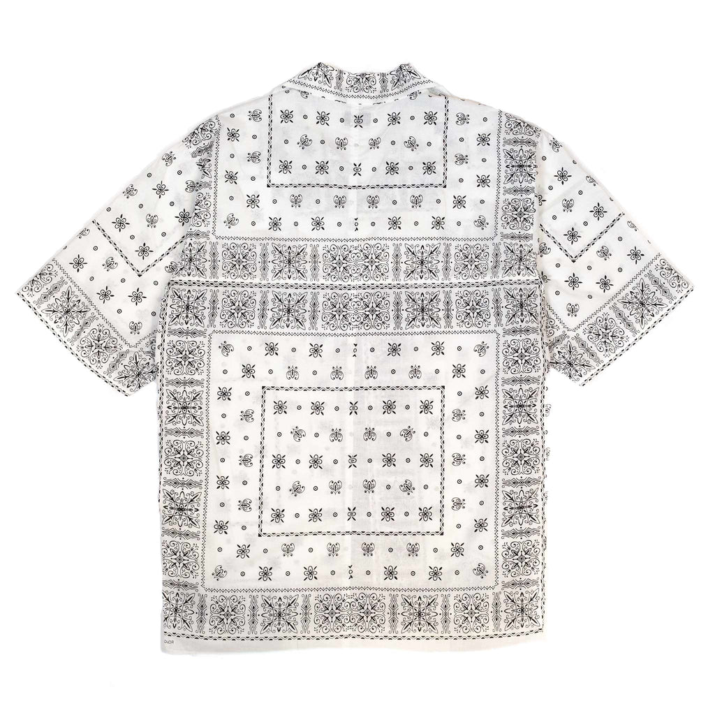 The Real McCoy's MS20014 JM Bandana Shirt S/S White back