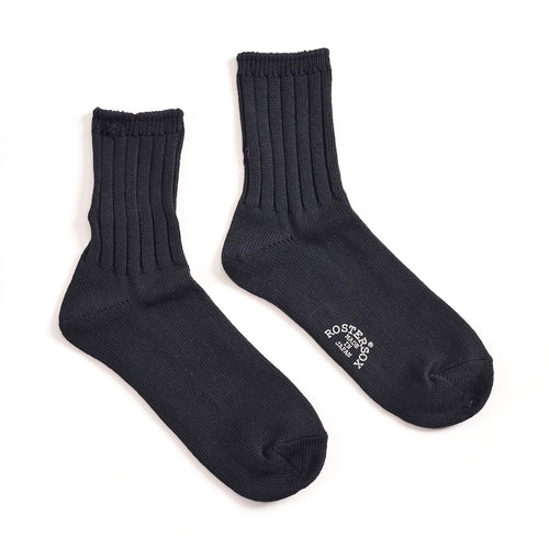 Rostersox What's Up Rib Socks Black
