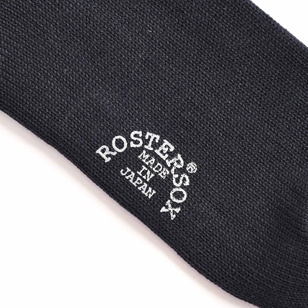Rostersox What's Up Rib Socks Black Brand