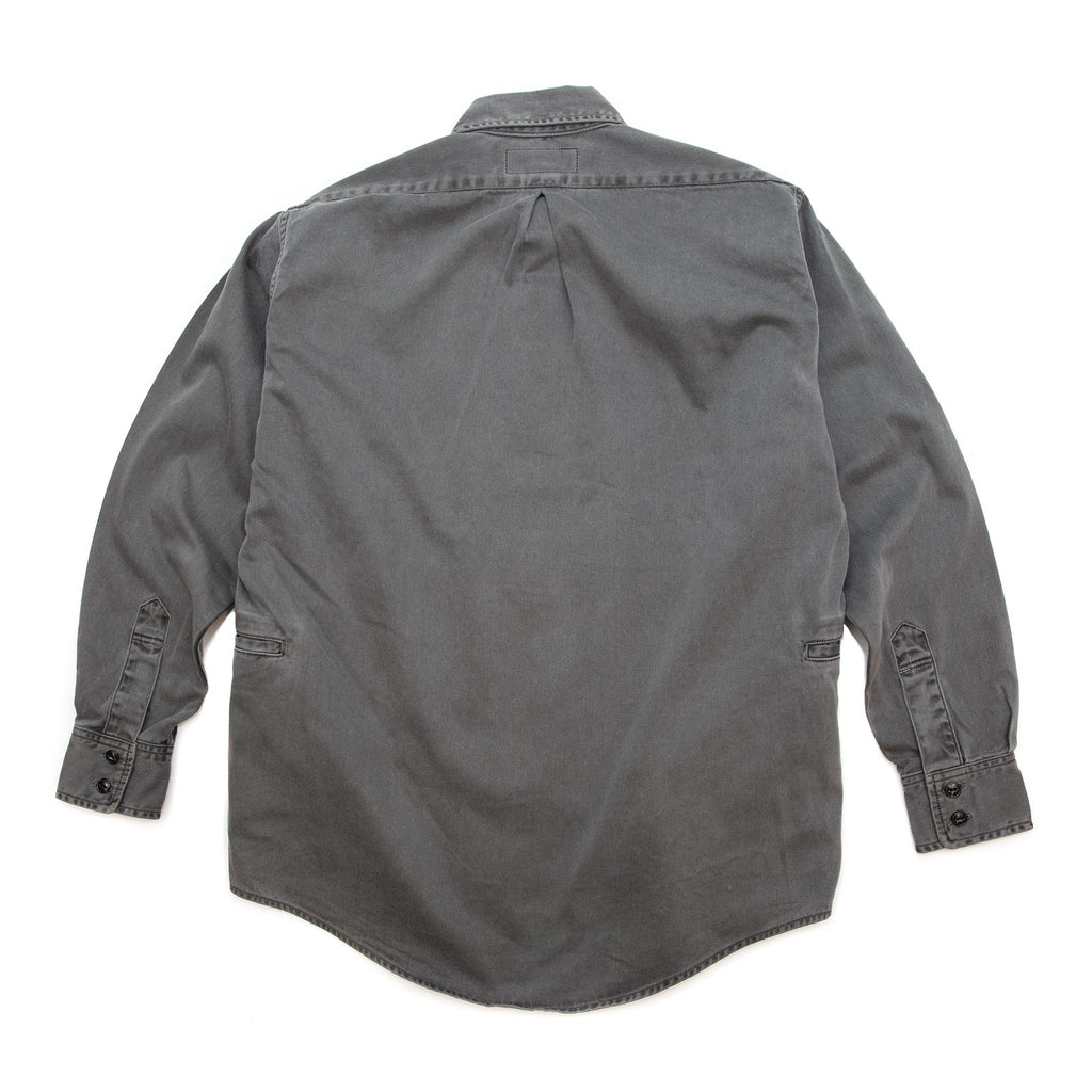 Sassafras Wheel Barrow Shirt Satin Black