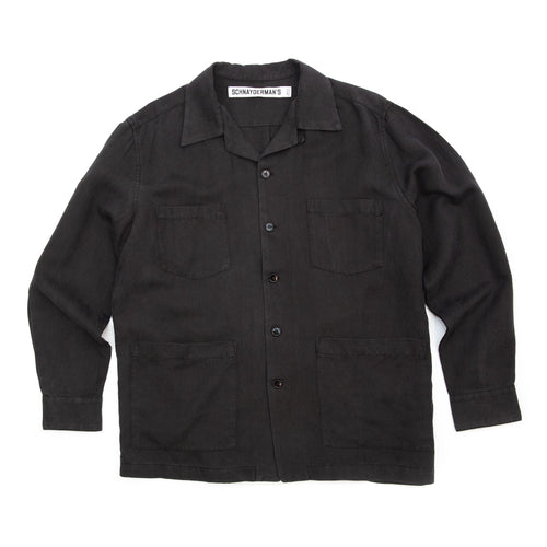 Schnayderman's Overshirt Boxy Black