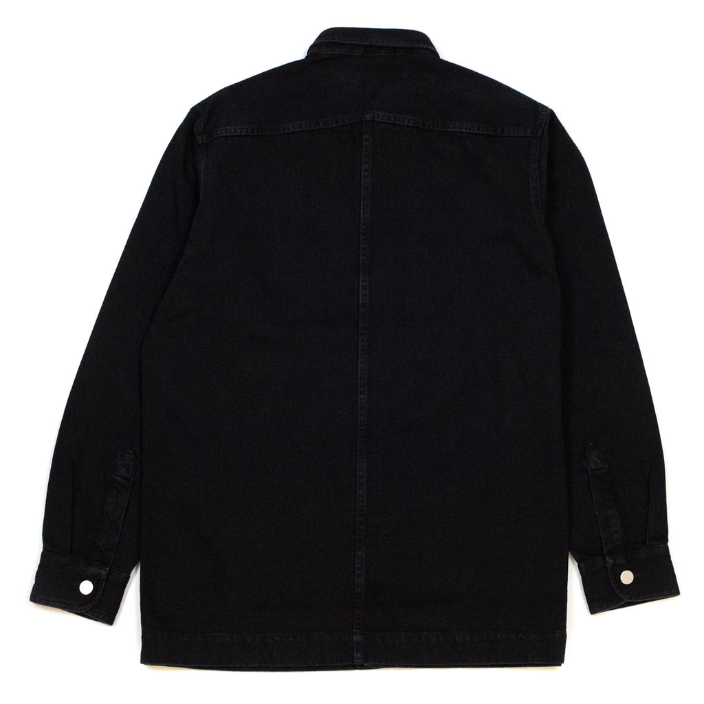 Schnayderman's Overshirt Denim Black