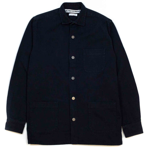 Schnayderman's Overshirt Twill One Dark Navy