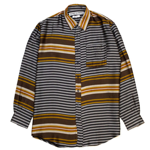 Schnayderman's Shirt Non-Binary Liquid Stripe Multi Colour