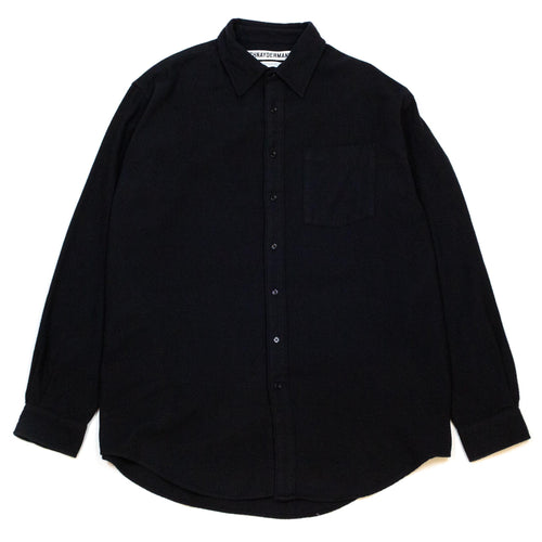 Schnayderman's Shirt Non-Binary Twill Flannel Black