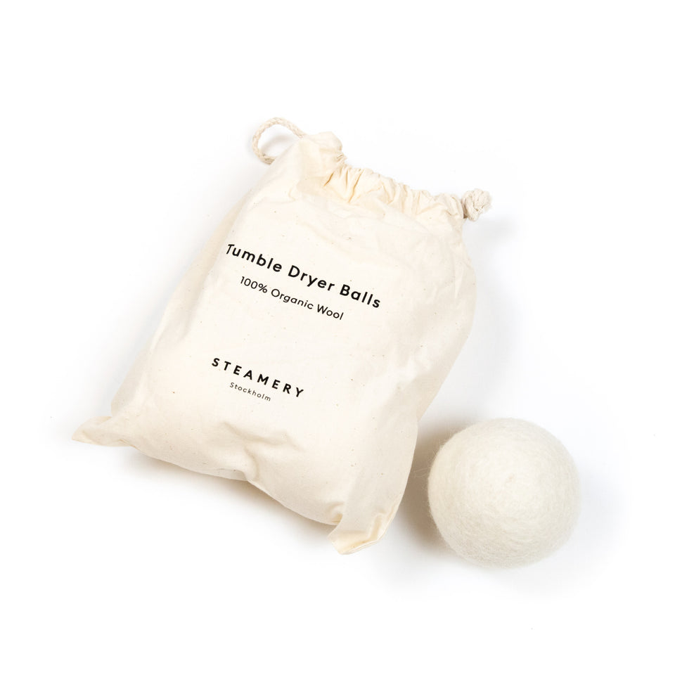 Steamery Wool Dryer Balls White