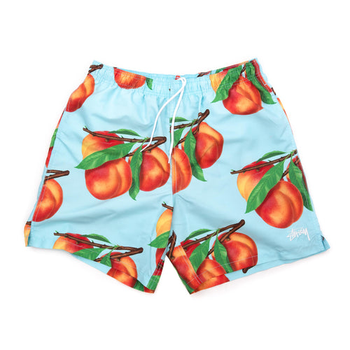 Stüssy Peaches Water Short Blue Front