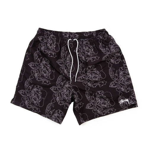 Stüssy Roses Water Short Black