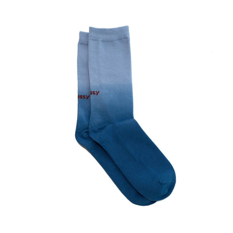 Stüssy Dip Dye Everyday Socks Blue