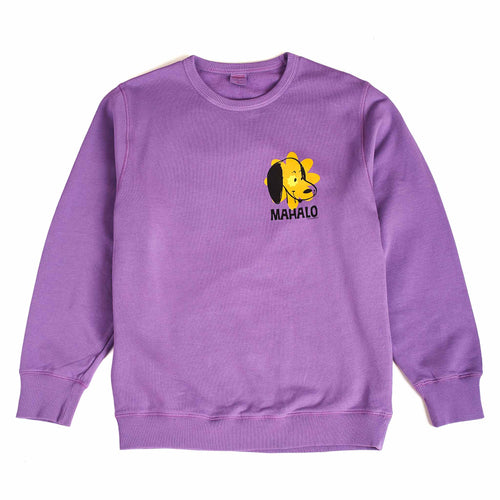 TSPTR Peanuts Mahalo Sweat Purple