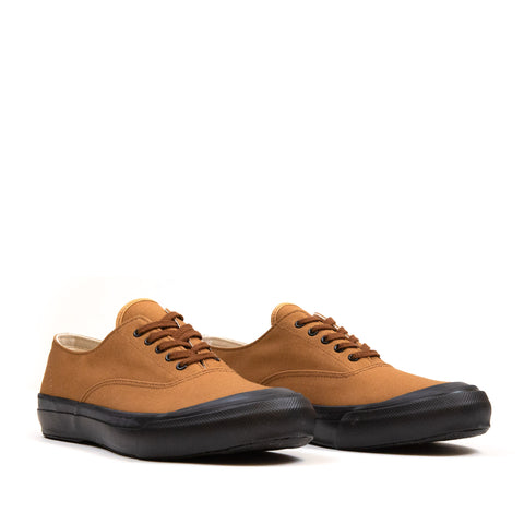 The Real McCoy's MA18019 USN Cotton Canvas Deck Shoes Brown