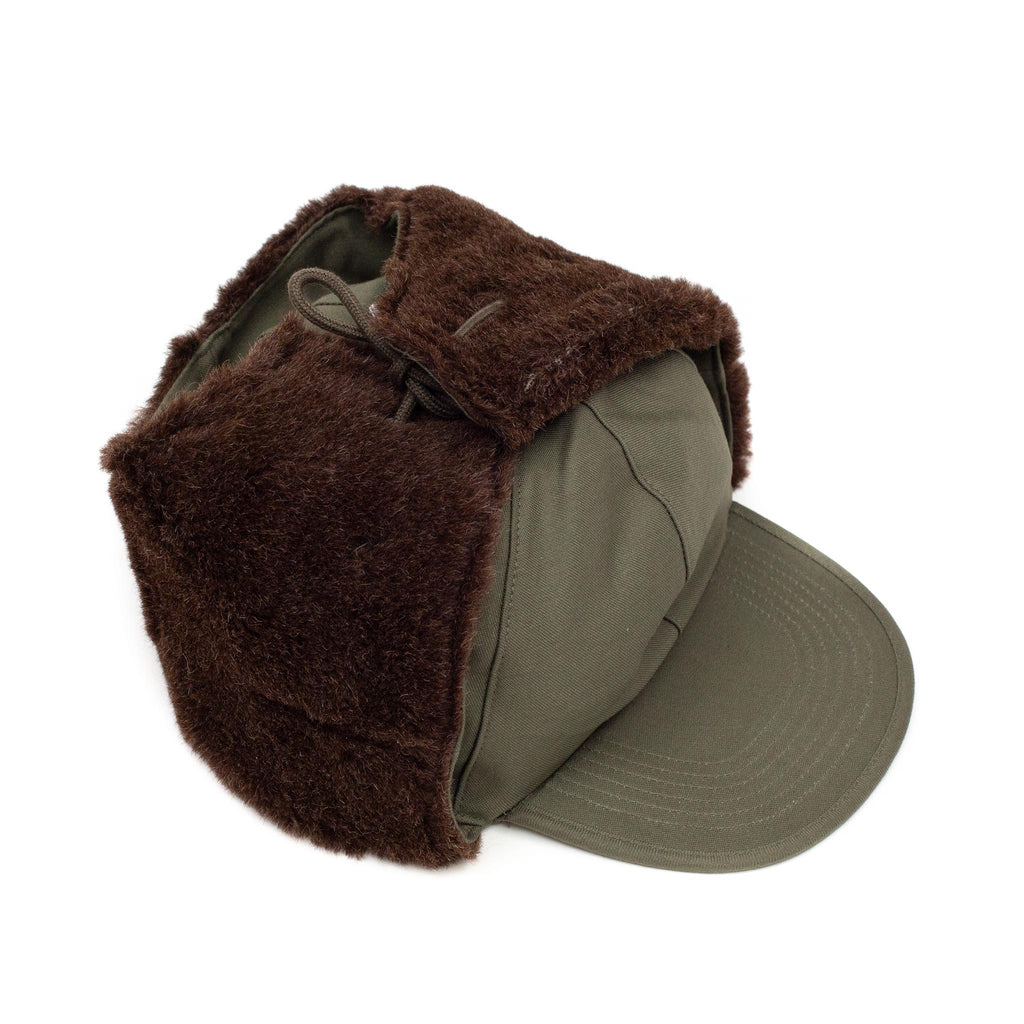 The Real McCoy's MA20107 Cap, Field, O.D., MQ-1 Olive