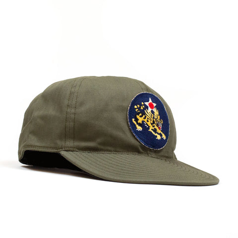 The Real McCoy's MA20112 A-3 Cap / Flying Tigers Green