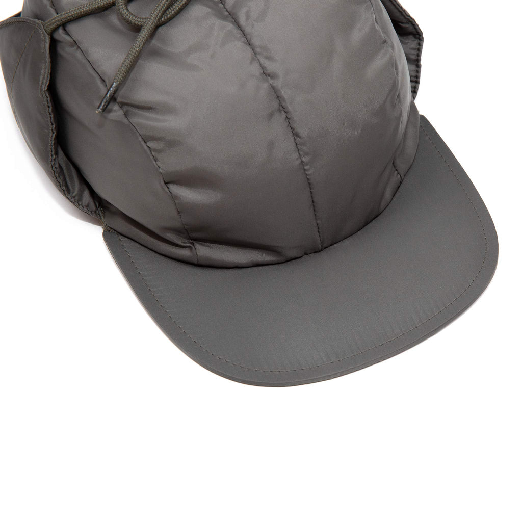 The Real McCoy's MA20112 Nylon Quilted Down Cap Olive