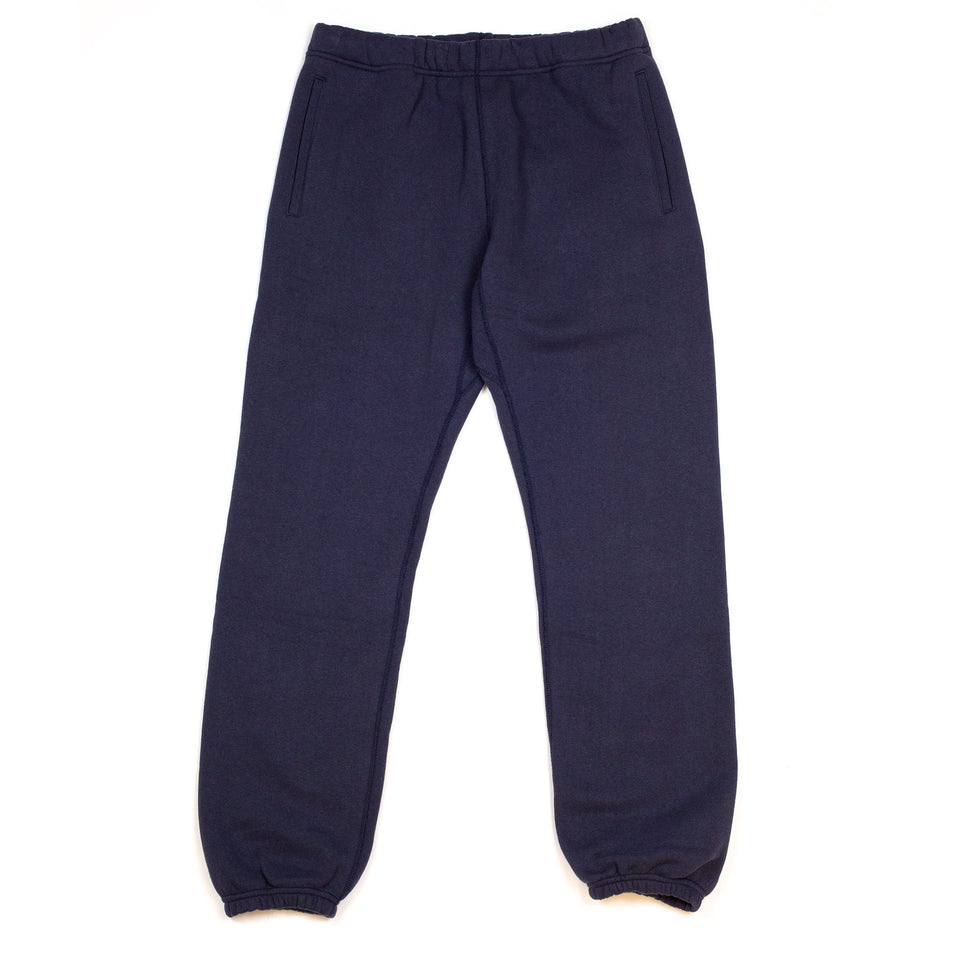 The Real McCoy's MC18118 10 oz. Loopwheel Sweatpants Navy