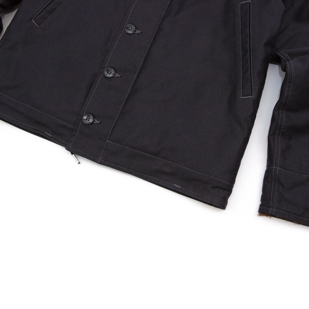 The Real McCoy's MJ14109 N-1 Deck Jacket Navy