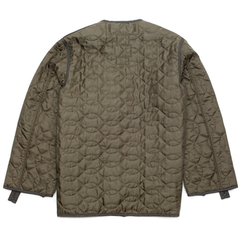 The Real McCoy's MJ18112 Liner, Coat, M-65 Olive
