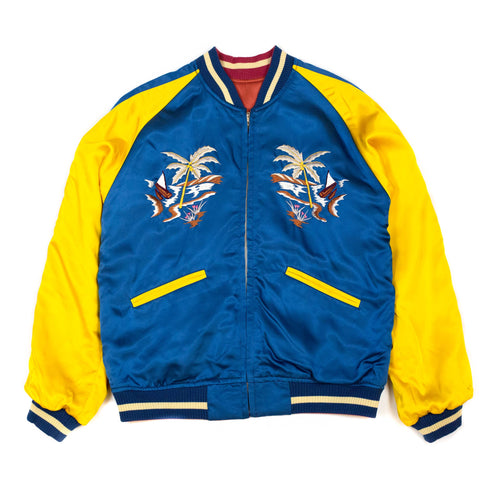 The Real McCoy's MJ20026 Suka Jacket / Philippines Red/Blue