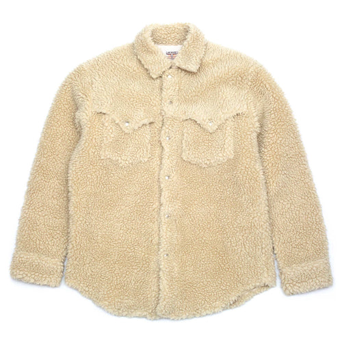 The Real McCoy's MJ20126 JM Wool Pile Western Jacket Ecru