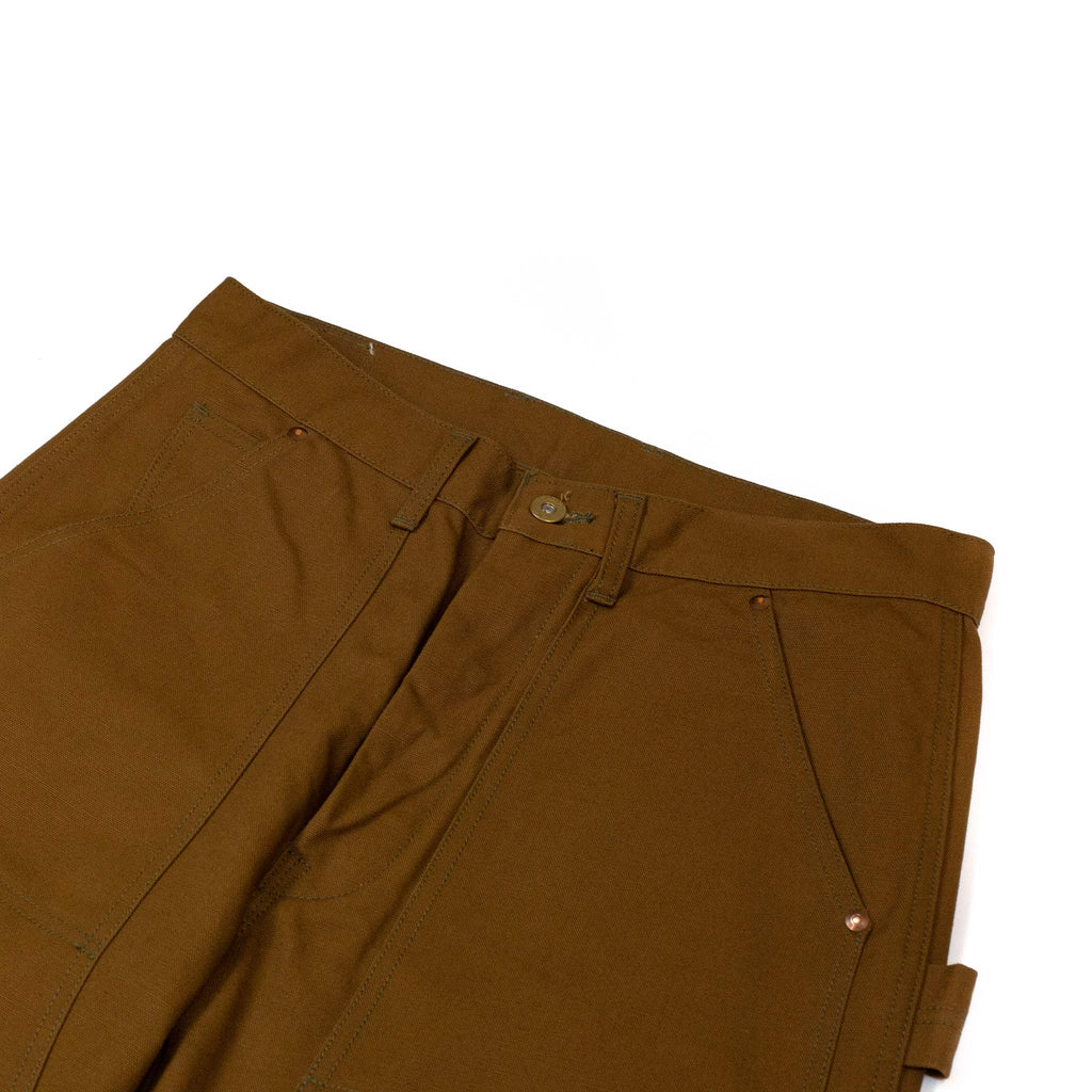 The-Real-McCoy_s-MP19102-8HU-Canvas-Double-Knee-Work-Trousers-Brown-detail-flat
