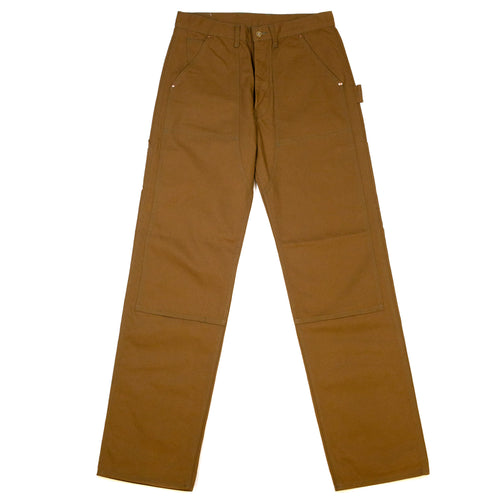 The-Real-McCoy_s-MP19102-8HU-Canvas-Double-Knee-Work-Trousers-Brown