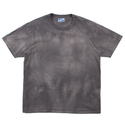 The Real McCoy's MC20007 Bleached T-Shirt Grey