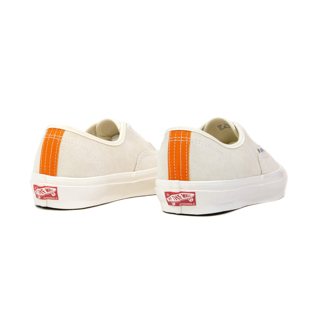 Vans Vault OG Authentic LX Suede Antique White/Persimmon Orange