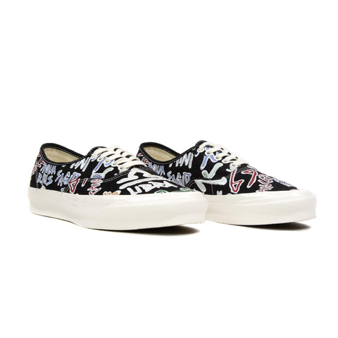 Vans Vault OG Authentic LX Canvas Zodiac Black